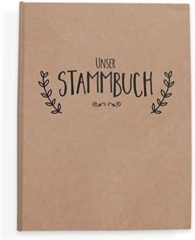 bigdaygraphix Stamm Libro de Familia de Familia Libro de Simple Vintage de: Amazon.es: Juguetes y juegos
