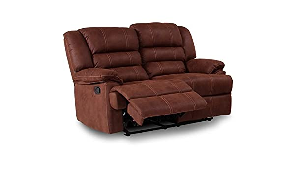 MUEBLES MATO - Sofas 2 plazas burgos reclinable: Amazon.es ...