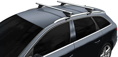 hochstehender BB-EP-Menabo Einfacher Aluminium Dachtr/äger 90301007 f/ür Chevrolet Trax mit normaler Dachreling f/ür U-B/ügel Montage oder T-Nut Montage mit 20 mm Breite