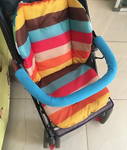 Cojín impermeable para cochecito de bebé, color al azar