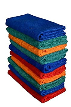 Sheen Microfiber Cleaning Cloth | Cleaning Cloth for Home and Kitchen | Cleaning Towel | Cleaning Product | Cleaning Cloth 30x35 240 GSM Pack of 10