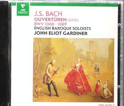 Bach: Orchestral Suites 3 & 4 Gardiner by Erato