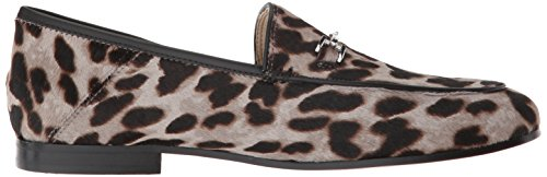 Leopard Women's Multi Edelman Sam Loafer Grey Loraine fYWHSq