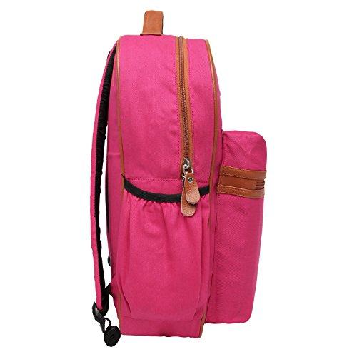 Snoogg - Bolso mochila  para mujer Rosa rosa