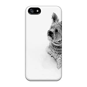 New Shockproof Protection Cases Covers For Iphone 5C Yorkie In Snow Cases Covers