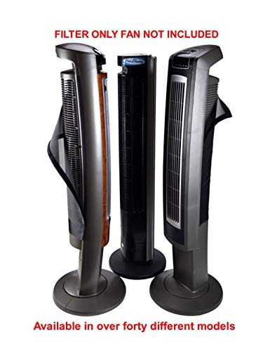 PollenTec Compatible with Model 2554, 2551 Fan Filter Keeps Fan Lasting Longer Pollen Mold Pet Dander Reusable Washable