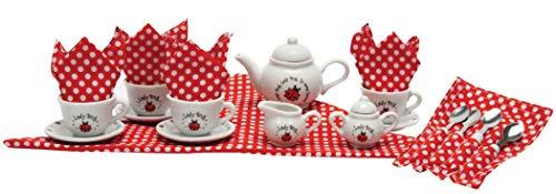 Schylling Ladybug Porcelain Tea