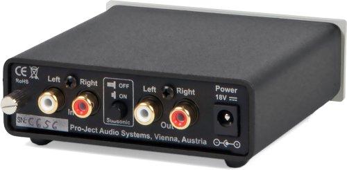 Pro-Ject Audio - Phono Box S - MM/MC phono preamplifier - Silver