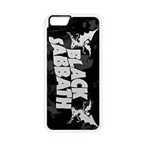 Black Sabbath iPhone 6 Plus 5.5 Inch Cell Phone Case White SH6151559