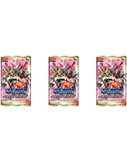 3 Packs Digimon TCG 12 Card Booster Pack Digimon Version 4.0 Great Legend