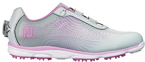 Price comparison product image FootJoy EmPower BOA Golf Shoes CLOSEOUT Women Silver / Lilac Medium 9