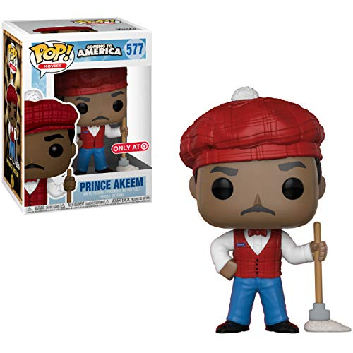 Funko Prince Akeem (Target Exclusive): Coming to America x POP! Movies Vinyl Figure & 1 PET Plastic Graphical Protector Bundle [#577 / 30804 - B]]()