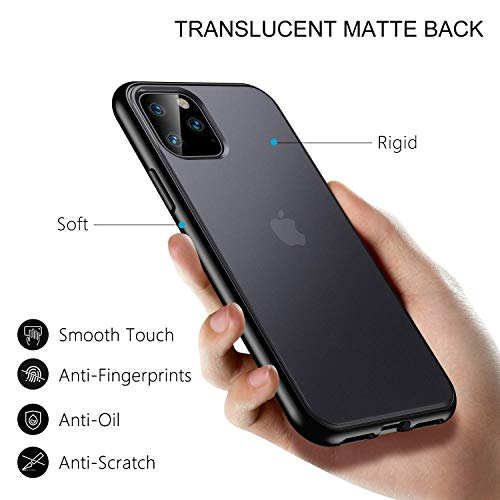ORIbox Case Compatible with iPhone 11 pro max Case, Translucent Matte case with Soft Edges, Lightweight