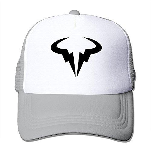 Spanish Tennis Player Rafael Nadal Logo Street Mesh Adjustable Unisex Strapback Hat