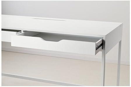 Ikea Alex - Escritorio, Blanco - 131x60 cm: Amazon.es: Hogar