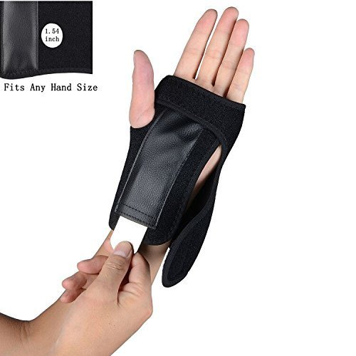 Carpal Tunnel Wrist Splint Brace Night with Removable Splint, Wrist wrap for Injury Hand Support Left/Right ()