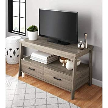 Amazon.com: Mainstay Logan, Mueble para televisor, Roble ...