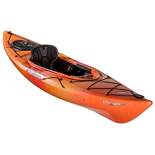 Old Town Dirigo 106 Recreational Kayak, Sunrise, 10 Feet 6 Inches