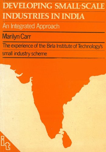 Developing Small-scale Industries in India (Development Of Small Scale Industries In India)