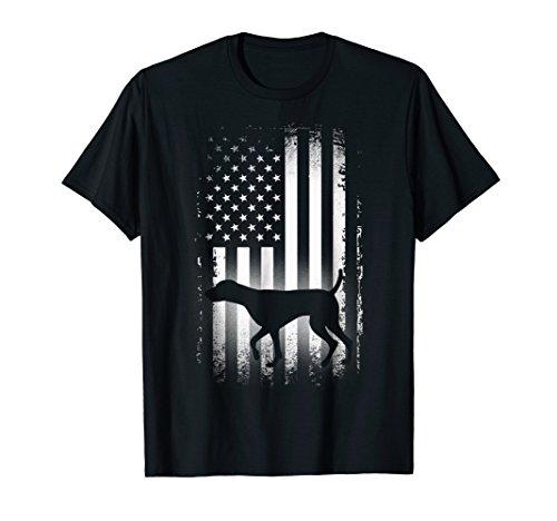 German Shorthaired Pointer American Flag Shirt Patriotic