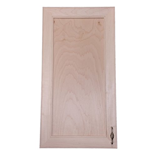 (Wood Cabinets Direct MAX-BCH-630 Maxwell On The Wall Frameless Medicine Cabinet, 30