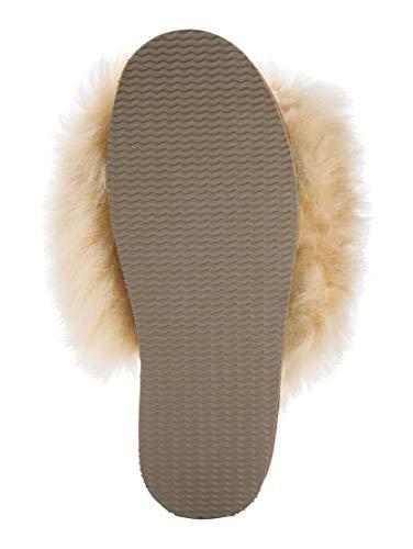 Pecora Sabot Morbidi Donna Castagna Shepherd Chestnut Tessan Pantofole Pelle Di 4IwPw7fq