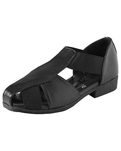 Beacon Fisherman Sandals, Black, 8 Wide