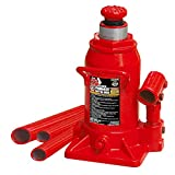 Torin Big Red T91207A Hydraulic Stubby Bottle Jack, 12 Ton Capacity