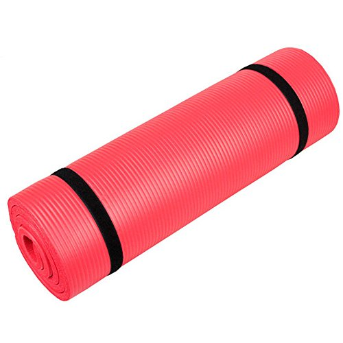 Extra Thick Non-slip Yoga Mat Pad Exercise Fitness Pilates w/ Strap 72″ x 24″
