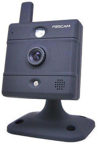 Foscam Fi8907W Fixed Wireless IP Camera Color: Black