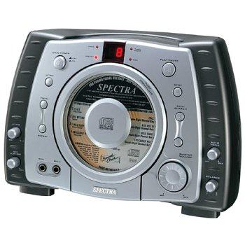Graphics Karaoke System - Spectra KCG-150 Portable CD + Graphics Karaoke System