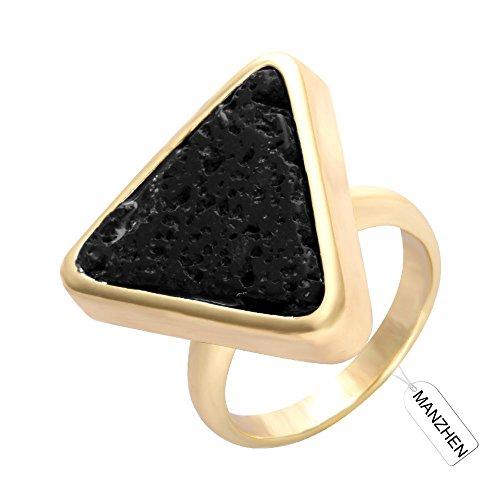 Black Geometric Ring - 1