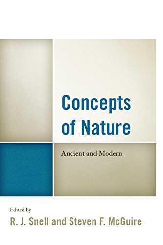 Books : Concepts of Nature: Ancient and Modern