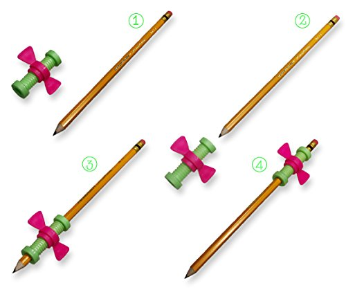 amazon com marble fidget toys 8 pack and pencil topper twirling