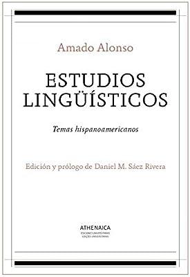 Estudios lingüísticos: Temas hispanoamericanos Lengua española ...
