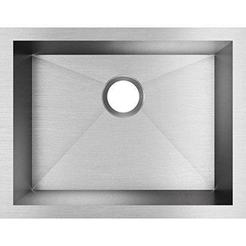 Elkay EFU211510T Crosstown Single Bowl Undermount Stainless Steel Sink