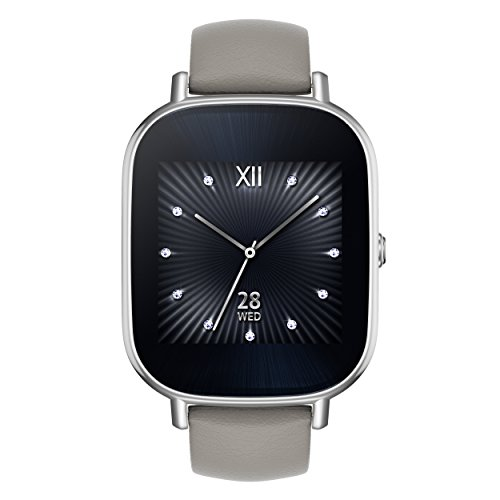 ASUS ZenWatch 2 WI502Q-SL-BD-Q 1.45-inch AMOLED Smart Watch with  Quick Charge - BEIGE LEATHER