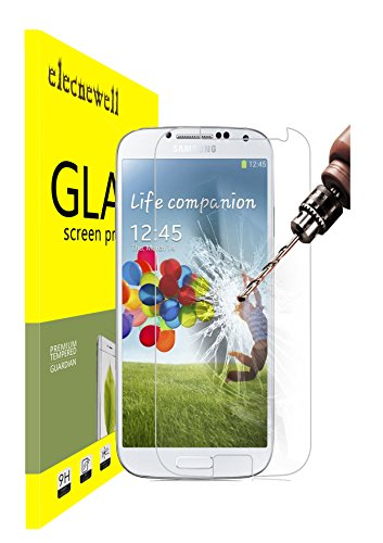 Protective Screen Guard - Samsung Galaxy S4 Glass Screen Protector, Ultra-clear Glass Screen Protector High Definition Premium Protective Screen Guard (for Samsung Galaxy S4)