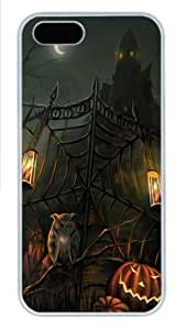 halloween scary horror gate Polycarbonate Hard Case Cover for iPhone 5/5S ¡§C White