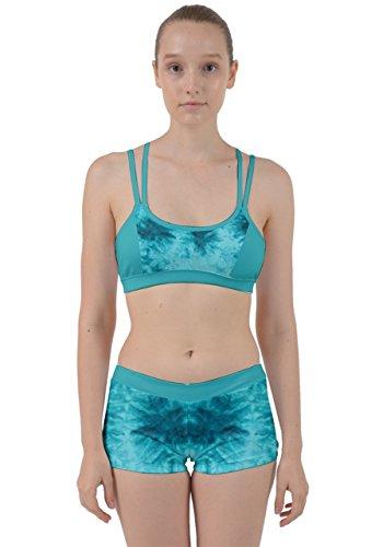 CowCow - Vestido - para mujer Mint Tie Dye