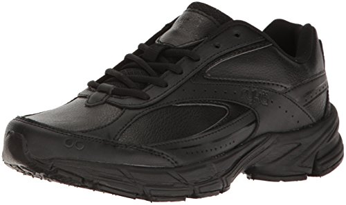 Ryka Women's Comfort Walking Shoe, Black, 8 M US (Womens Walking Leather Shoes)