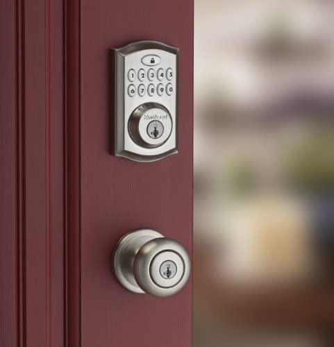 tools, home improvement, hardware, door hardware, locks,  deadbolts 9 on sale Kwikset 99130-002 SmartCode 913 Non-Connected Keyless promotion