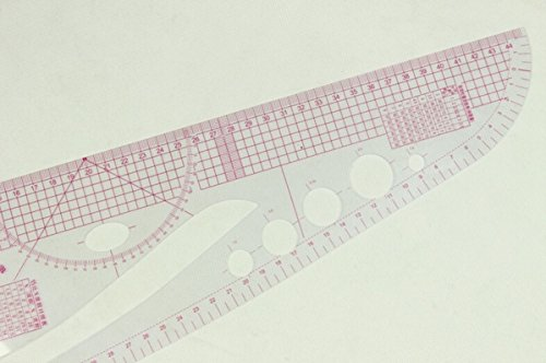 Want 1 Piece Multi -Purpose Fashion Scales ,Versatile Cutting-out Ruler,Professional Pattern Maker Fashion Master,FASHION DESIGNER'S C-THRU VERSATILE CUTTING OUT CURVED RULER deliver