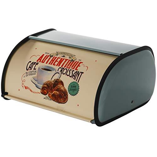 PENGKE Stainless Steel Bread Box for Kitchen,Metal Bread Bin,Bread Storage Bread Holder for Counter,12.6 x8.7 x5.5 inch…