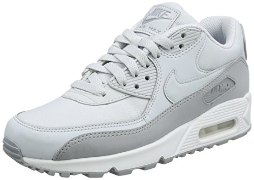 Nike Air Max 90 Essential Mens Trainers Multicolour (Wolf Grey/Pure Platinum White 088) buy cheap from china c4f7Fa