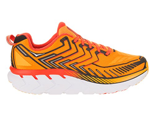 One Red 2017 4 41 Shoes One 1 Hoka US Clifton Laufschuhe Orange 3 Men Running 8 Saffron Schuhgröße dat8xqxg