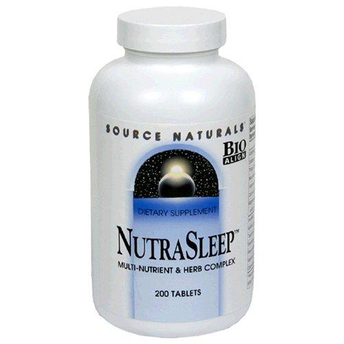 Source Naturals NutraSleep, 200 comprimés