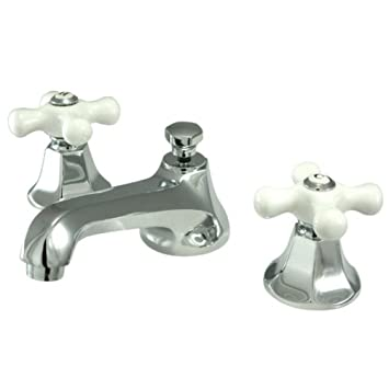 Kingston Brass KS4461PX Metropolitan Widespread Lavatory Faucet with ...