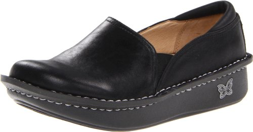Alegria Women's Debra Slip-On,Black Magic,37 EU/7-7.5 M US