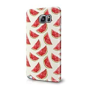 Sandias tricomonas Tropical Hawaii frutas patrón Tumblr rebuscamiento Samsung Galaxy Note 5 de plástico
